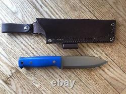 LT Wright Knives Illuminous 5 Bushcraft Knife & JRE Industries Sheath 3V