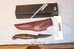 Lakota Fin Wing Knife & Sheath Never Used Condition In Box Made In Seki Japan