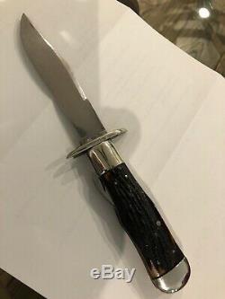 Large Vintage Marbles safety folder/folding knife Gladstone Michigan