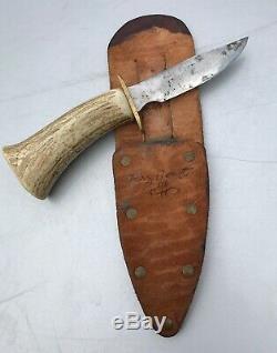 Larry Benoit Handmade Hunting Knife 2006 Vermont Whitetail Buck