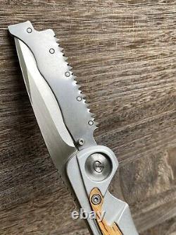 Leatherman STEENS hunting Knife 154CM Premium Stainless Steel