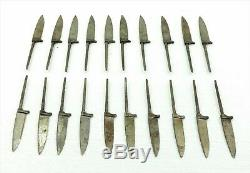 Lot of 20 Vintage Small Knife Fixed Blank Blade Hunting Knife BowIe SOLINGEN