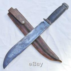 MARBLE'S USA 1923-1940 huge TRAILMAKER 9.75 blade knife, original sheath RARE