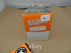 MARBLES Gladstone USA TRAILCRAFT Hunting Knife withsheath IMPALA BONE 2001 MINT
