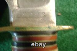 Marbles Ideal Hunting Knife 7 Full Stag