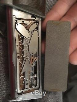 Mark Knapp 1911 Combat Survivor Handmade Bowie Knife Bundle