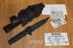 Miller Bros Blades M15, Hunting Knife, Combat Survival Knife, Fighting Knife