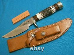 Nm Randall Knives #27 Trailblazer Stag Hunting Skinning Survival Bowie Knife Set