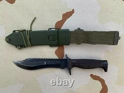 OLD Spanish Aitor Oso Negro Knife GOE Military Machete Spain