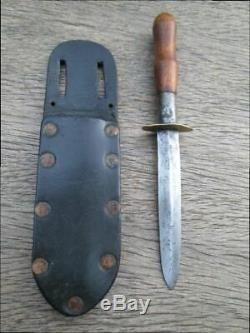 Old Vintage Antique 1800s Fighting Bowie Dagger Boot Knife Possible Civil War
