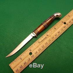 Old Vintage Robeson Shuredge Sportsmans Hunting Knife Knives Set W Sheath Lot NM