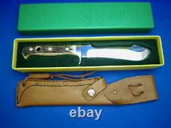 PUMA VTG WHITE HUNTER Knife 6377 PUMASTER STEEL1975 Made In Germany UNUSED COND