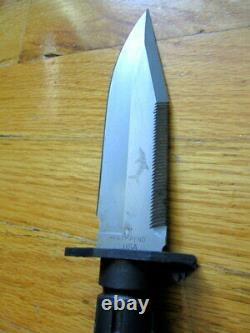 Phrobis Patent Buck 9010 MFK (Modular Field Knife) Diving + black swivel sheath
