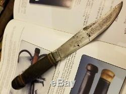 Pre WW1 Vintage 1906 MSA CO. 1st Expert Knife Extra Rare Reversed Stamp Pristine