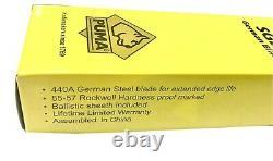 Puma SGB German Steel Antler Stag Fixed Blade Dagger Knife Case Sheath Mint