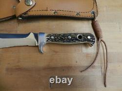 Puma White Hunter 6375 Knife with Sheath