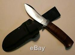 R L BOB DOZIER Nessmuk Skinner KNIFE & Kydex Wilderness Sheath Arkansas Made