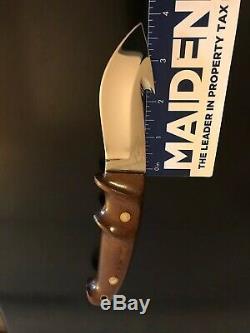 R. W. Loveless Custom Knife Maker Lawndale, Calif. Gut Hook Knife/sheath