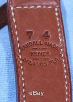 RANDALL KNIFE KNIVES #7-4 1/2 STAG Model 7