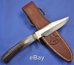 RANDALL M 5-4. Stag. 1990's Unused, Mint Knife