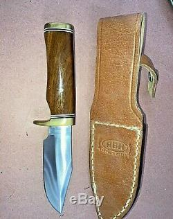 RBH Custom Handmade USA Skinner Knife New Never Used from My Collection 9 1/2