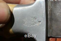 RH Ruana Old Skinner knife from Montana