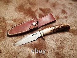 Randall Knife Custom Model 8 4 Original Johnson Rough Back Sheath