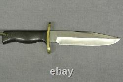 Randall Knives #14-7 1/2 Attack Carbon Steel, Named Blade With Leather Sheath