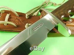 Randall Knives Vietnam Veteran Model 14 Attack #74 of 500 SS Sheath Case