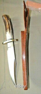 Randall Made Knife Nordic Special Bowie Model Nickel Silver Knives