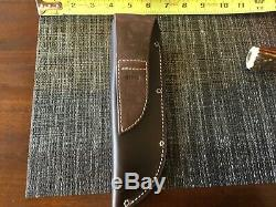 Randall Made Knife custom handle/gaurd by Behring with Mosher sheath