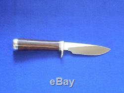 Randall Made Knives Model 26 Pathfinder SS Blade Nickel Silver Ironwood Duralim