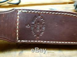 Randall Made Knives Model 5-5, 01 and Leather. Used