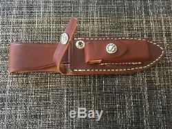 Randall knife Copper Companion Stag 5 stainless thumb notch factory sheath