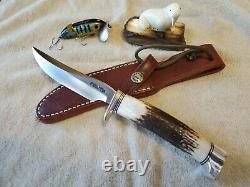 Randall knife, model 7-4 Fisherman/Hunter, Stainless