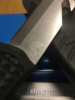 Rare/Discontinued Benchmade Dive Knife 110H20-BLK, N680 Stainless, with Sheath
