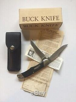 Rare Vintage NOS Buck 317 Trailblazer Knife Pre Date Code Never used In Box