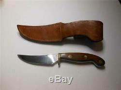 Rare Vintage Olsen Fred Bear Signed Fixed Blade Hunting Knife Hc MI USA Archery
