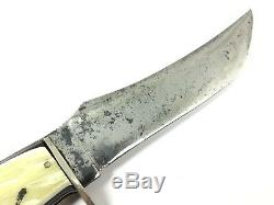 Rare Western Interchangeable Hatchet & Fixed Blade Knife Sheath Vintage 1411-LXX