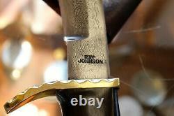 Ray Johnson Damascus knife