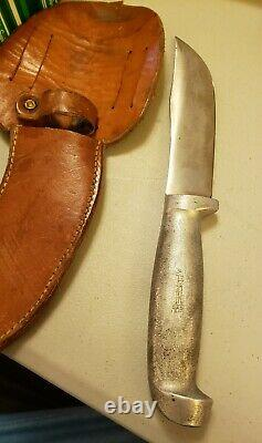 Richtig handmade Hunting Knife with Sheath. Clarkson, NE