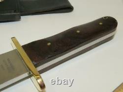 Scarce Vintage Warner-moran Rio Grande Blackjack-big Camp/bowie Knife-1970's