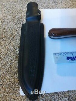 Smith & Wesson Custom TEXAS RANGER 180th anniversary knife Japan not used LE