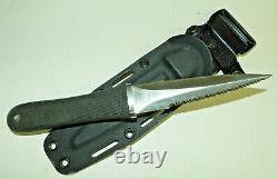Sog Mini Pentagon Knife & Boot Clip Sheath Made In Seki Japan