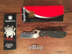 Spyderco Knives Breeden Rescue Knife (3.375 Satin Plain) C139GP
