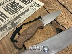 Spyderco Temperance 2 Fixed Blade Knife (4.87 Satin) FB05P2