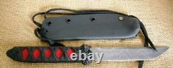 Steve Isbell Custom Fixed Blade Knife, Japanese Style Tanto, Stingray, Kydex