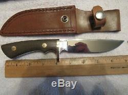 Steve Voorhis Knife Custom Drop Point Hunter. Unused. Excellent+++