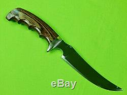 Track Knives Ithacagun Company Model Bob Marshall Skinning Hunting Knife Sheath