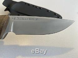 Treeman Knives Recon Hunter Brown Micarta Silver Blade Kydex (light use)